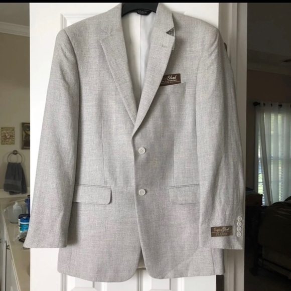 Jos. A. Bank Other - NWT Jos A Bank 40L Silver/Gray Sport Coat